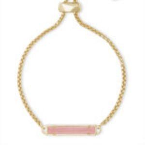 Kendra Scott Stan bracelet rose quartz, NWT